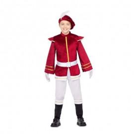Costume da Paggio Porpora con Cintura
