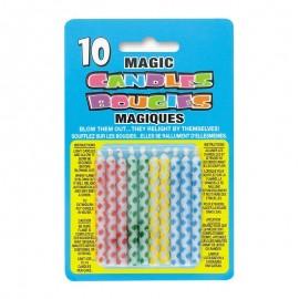 10 Candele Magiche con Rombi
