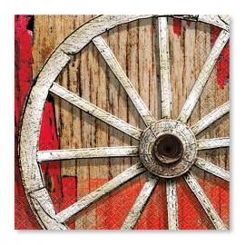 16 Tovaglioli Rodeo Western 33 cm
