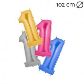 Palloncino Numero 1 Foil 102 cm