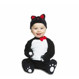 Costume Gattino Nero per Bebe