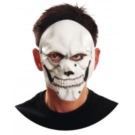 Maschera da Teschio Mezzo Volto in Lattice