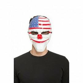 Mezza Maschera The Purge Con Bandiera USA
