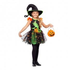 Costume da Strega Pumpkin per Bambina