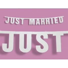 Bandierine Just Married 18 x 170 cm