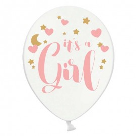 6 Palloncini It's a Girl 30 cm