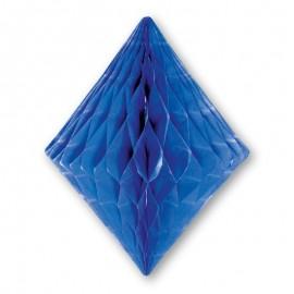 Decorazione a Ventaglio forma Diamante 20 cm