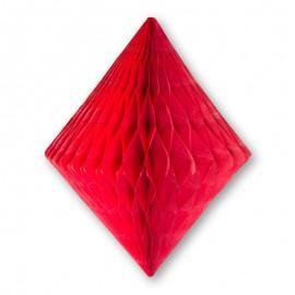 Decorazione a Ventaglio forma Diamante 30 cm