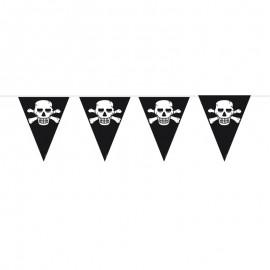 Bandierine 6 mt Compleanno Pirata