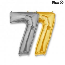 Palloncino Numero 7 Foil 86 cm