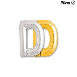 Palloncino Lettera D Foil 40 cm