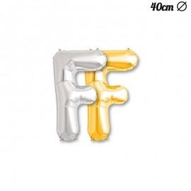 Palloncino Lettera F Foil 40 cm