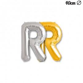 Palloncino Lettera R Foil 35 cm
