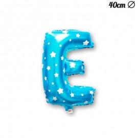Palloncino E Foil Azzurro con Stelle 40 cm