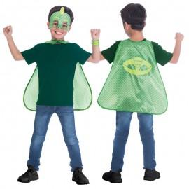 Set Mantello e Maschera Jecko PJ Masks per Bambino
