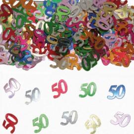 Coriandoli Numero 50 Multicolor