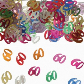 Coriandoli Numero 60 Multicolor