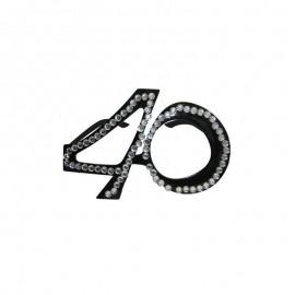 Occhiali con Numero 40