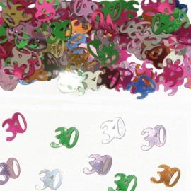 Coriandoli Numero 30 Multicolor