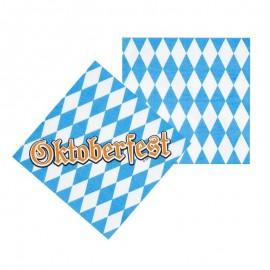 12 Tovaglioli Oktoberfest 33 cm