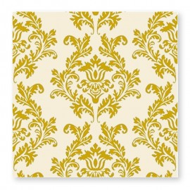 20 Tovaglioli sfondo Bianco Overprint 33 cm