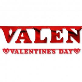 Bandierine Valentine's Day 15 x 200 cm