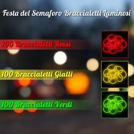 Festa del Semaforo Braccialetti Luminosi