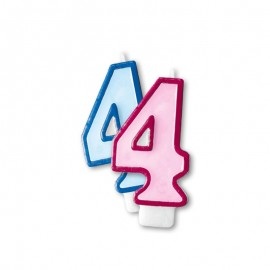 Candela Compleanno n 4