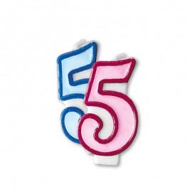 Candela Compleanno n 5