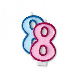 Candela Compleanno n 8