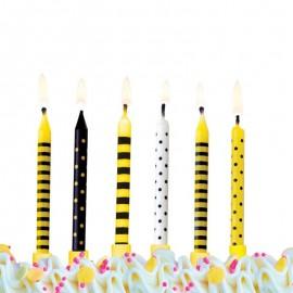 6 Candele per Compleanno Vari Disegni