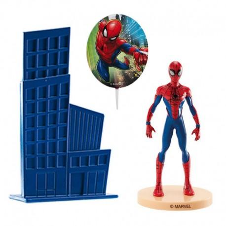 Kit Topper Spiderman per Torta