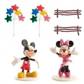 Kit Decorazione Mickey & Minnie per Torta