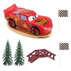 Kit Decorazione Cars per Torta