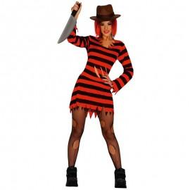 Costume da Miss Krueger per Donna