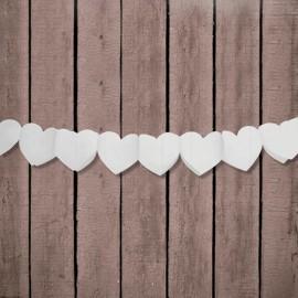 Festone forma Cuore di Carta 11 cm x 3 m