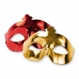Maschera per Feste Metallizzata
