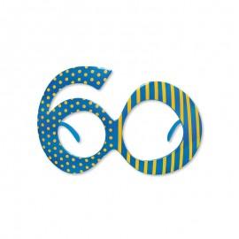 Occhiali per Compleanno Numero 60