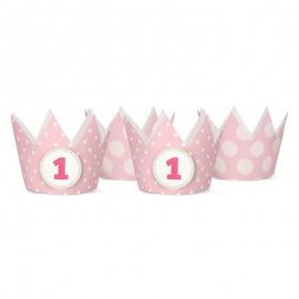 4 Corone per Bambini con N 1