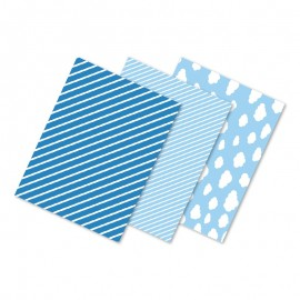 6 Tovaglie Blu 40 x 30 cm Vari Modelli