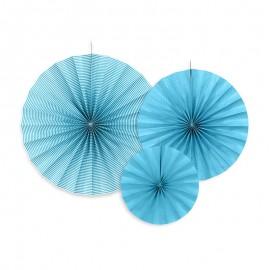 3 Coccarde Azzurre Vari Modelli