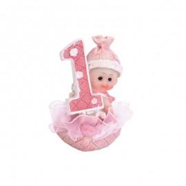 Figura di Bambina Primo Anno 7 cm