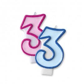 Candela Compleanno n 3