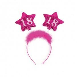 Cerchietto 18 Compleanno con Stelle