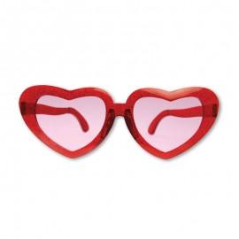 Occhiali Retro forma Cuore 13 cm