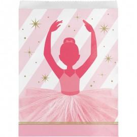 10 Sacchetti Ballerina di Carta