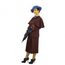 Costume Bambinaia Poppins Per Adulto
