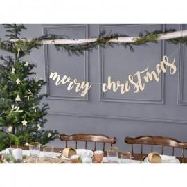 Festone Merry Christmas 87x17 cm