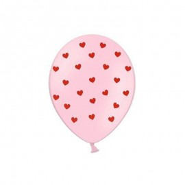 Palloncini Cuori Rosa 30 cm