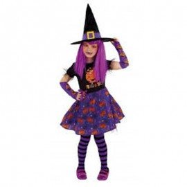 Costume Streghetta Dolcetto o Scherzetto Bambina